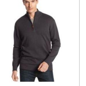 Oscar de la Renta Mock Neck Pullover Sweater